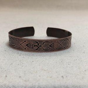Jewelry - Vintage copper cuff bracelet